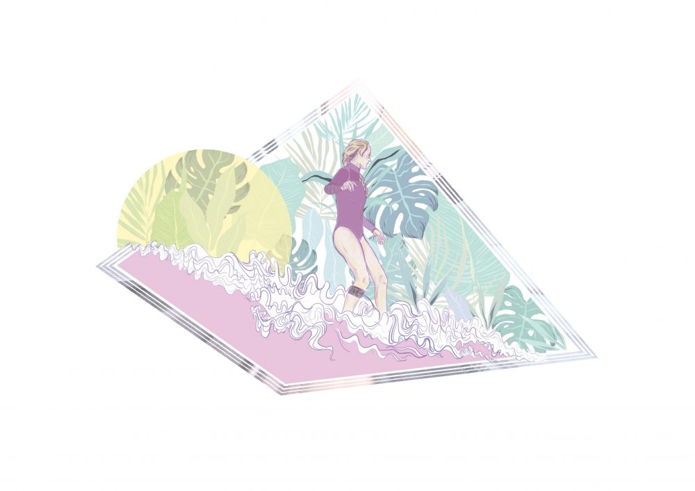 Botanical she Illustration RGB